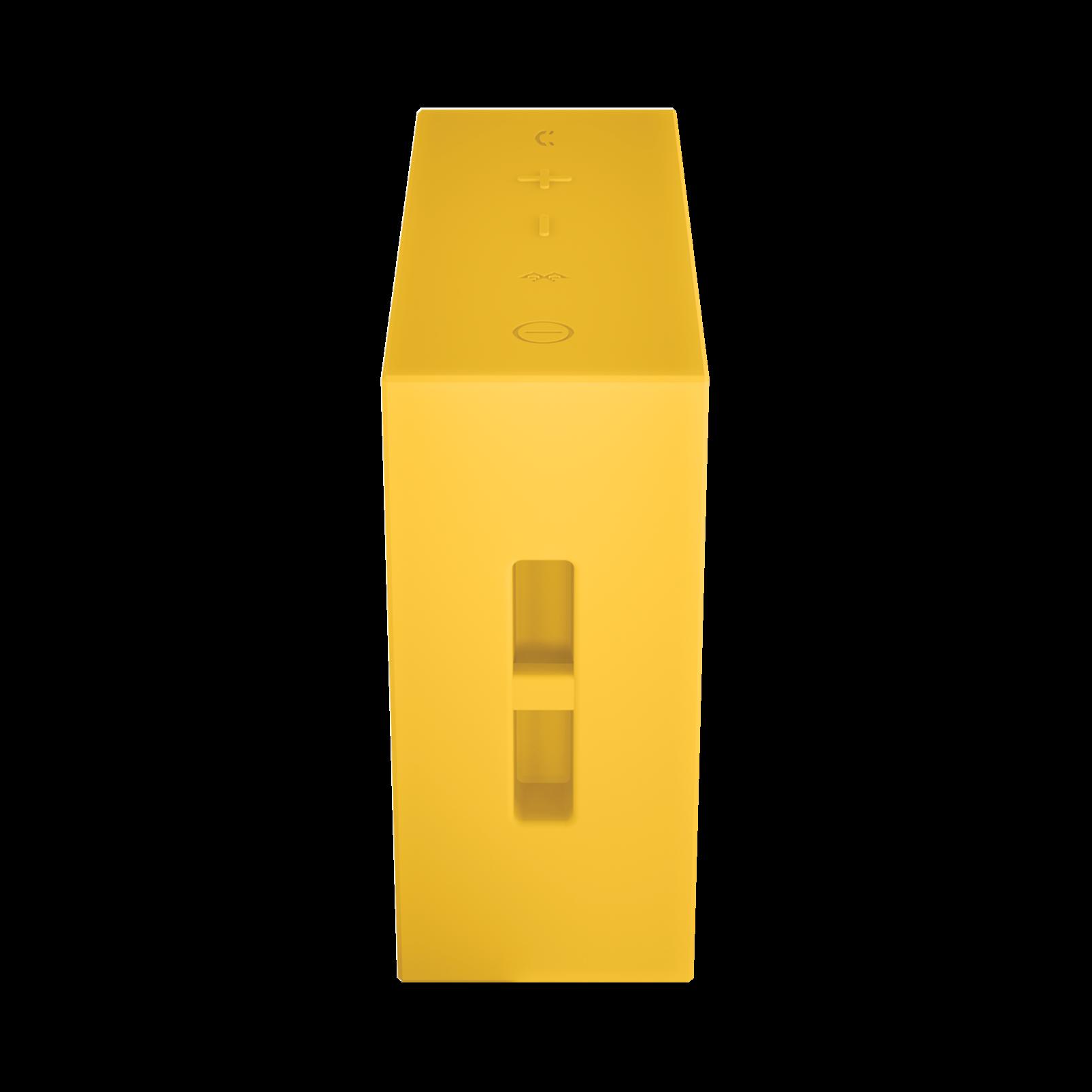 JBL GO - Yellow - Full-featured, great-sounding, great-value portable speaker - Detailshot 2