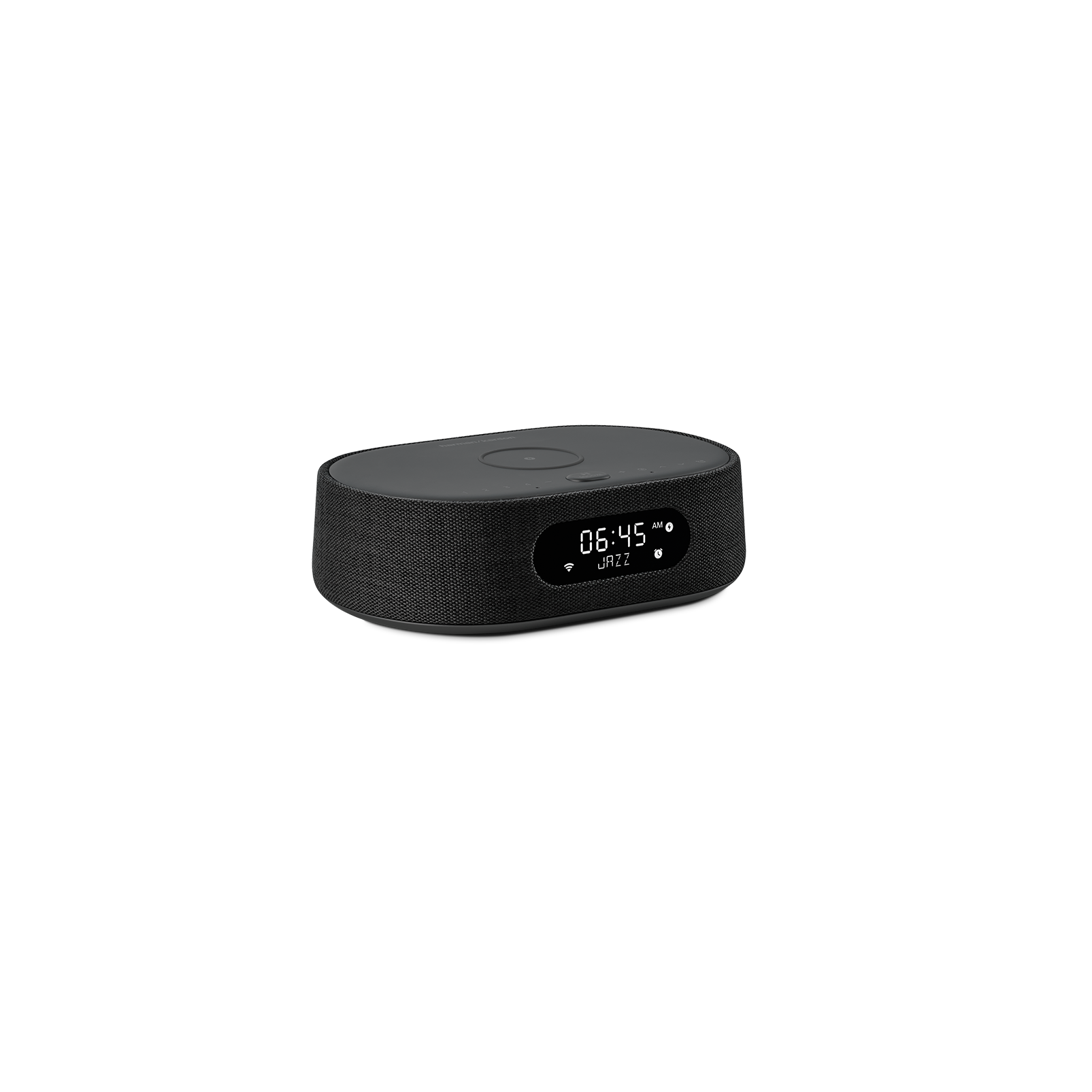 Harman Kardon Citation Oasis - Black - Voice-controlled speaker with DAB/DAB+ radio and wireless phone charging - Hero