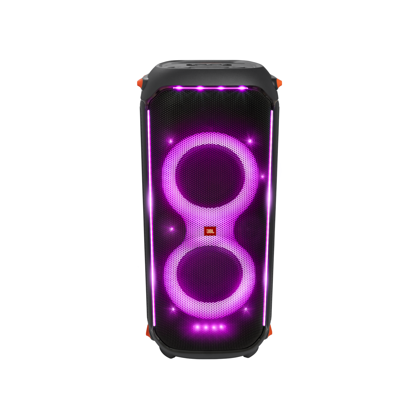 JBL Partybox 710 - Black - Party speaker with 800W RMS powerful sound, built-in lights and splashproof design. - Front