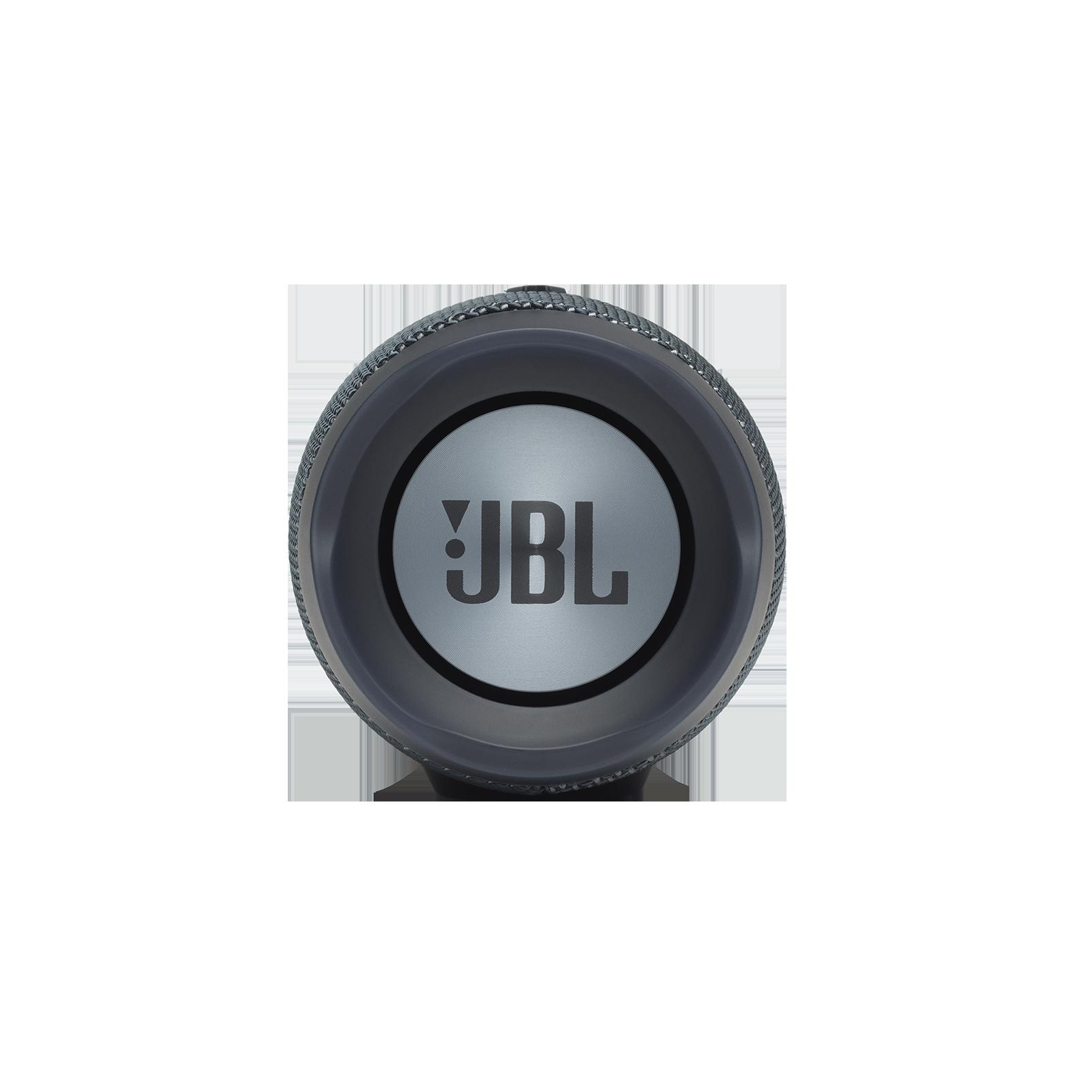 JBL Charge Essential - Gun Metal - Portable waterproof speaker - Right