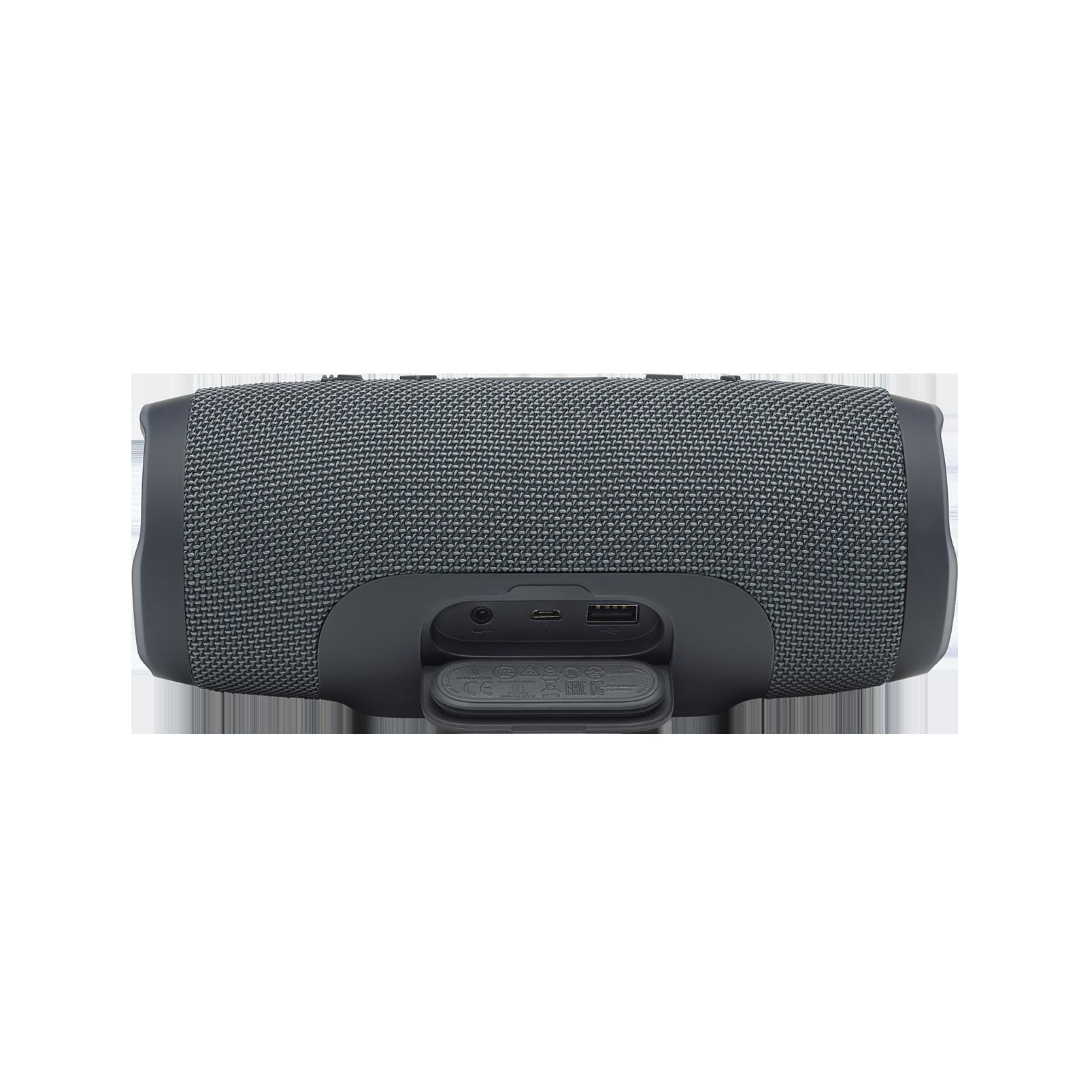 JBL Charge Essential - Gun Metal - Portable waterproof speaker - Detailshot 1