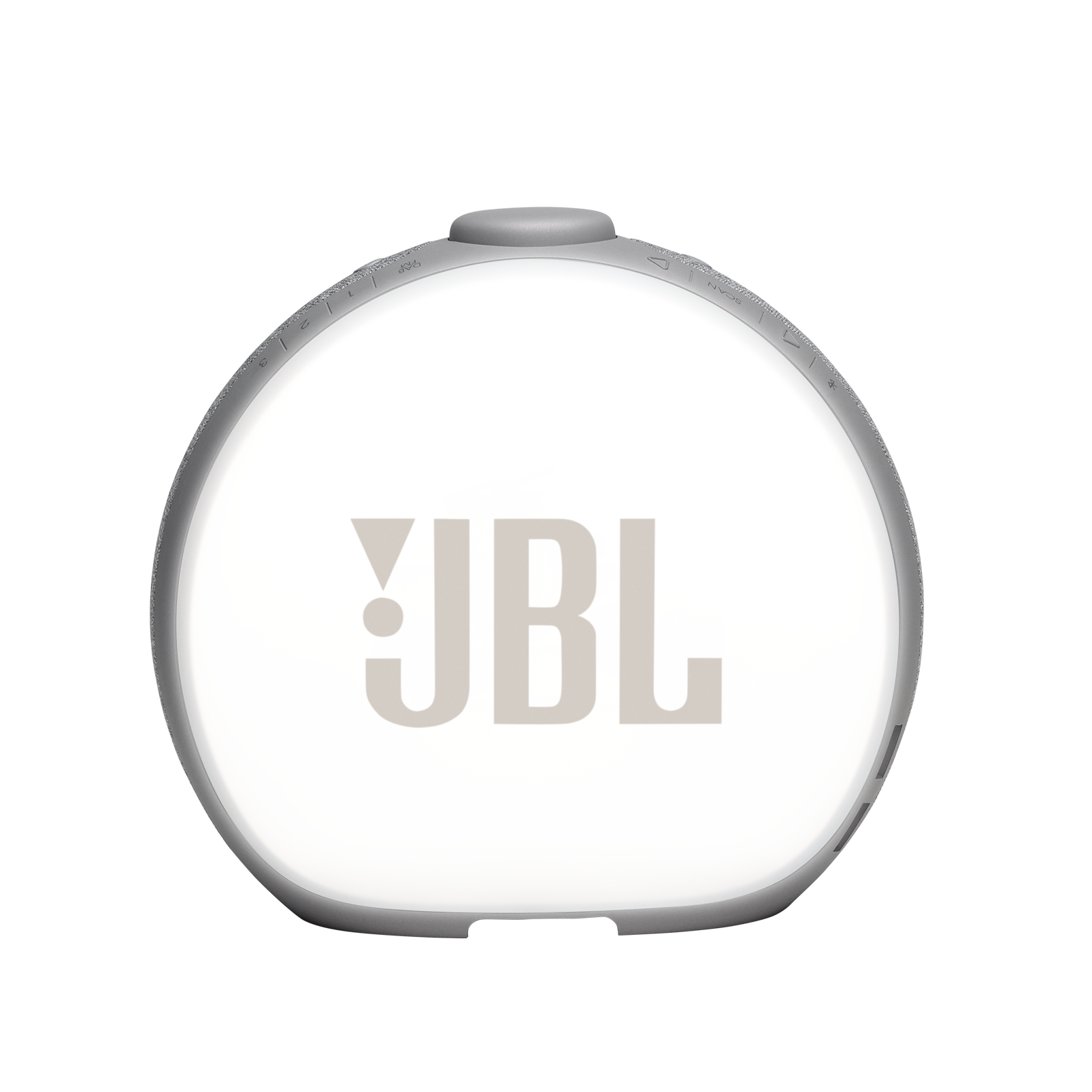 JBL Horizon 2 DAB - Grey - Bluetooth clock radio speaker with DAB/DAB+/FM - Back