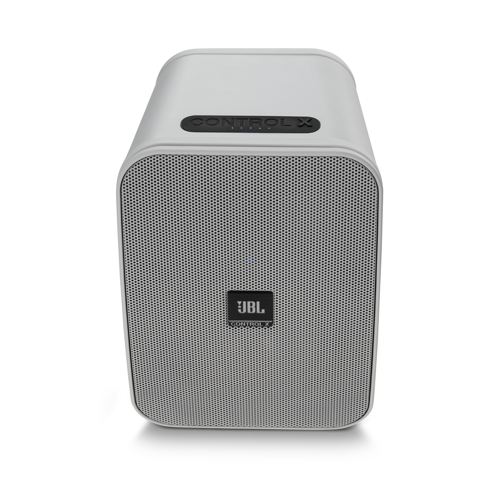 "JBL Control X Wireless - White - 5.25"" (133mm) Portable Stereo Bluetooth® Speakers - Front"