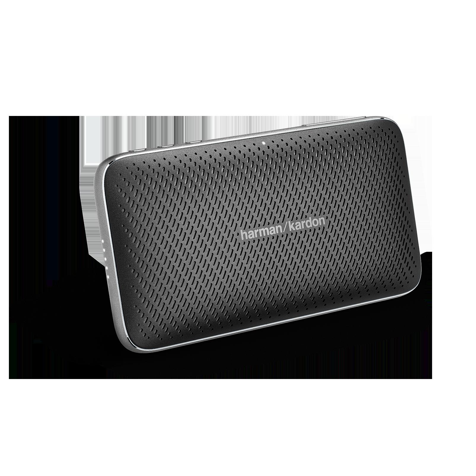Harman Kardon Esquire Mini 2 - Black - Ultra-slim and portable premium Bluetooth Speaker - Hero