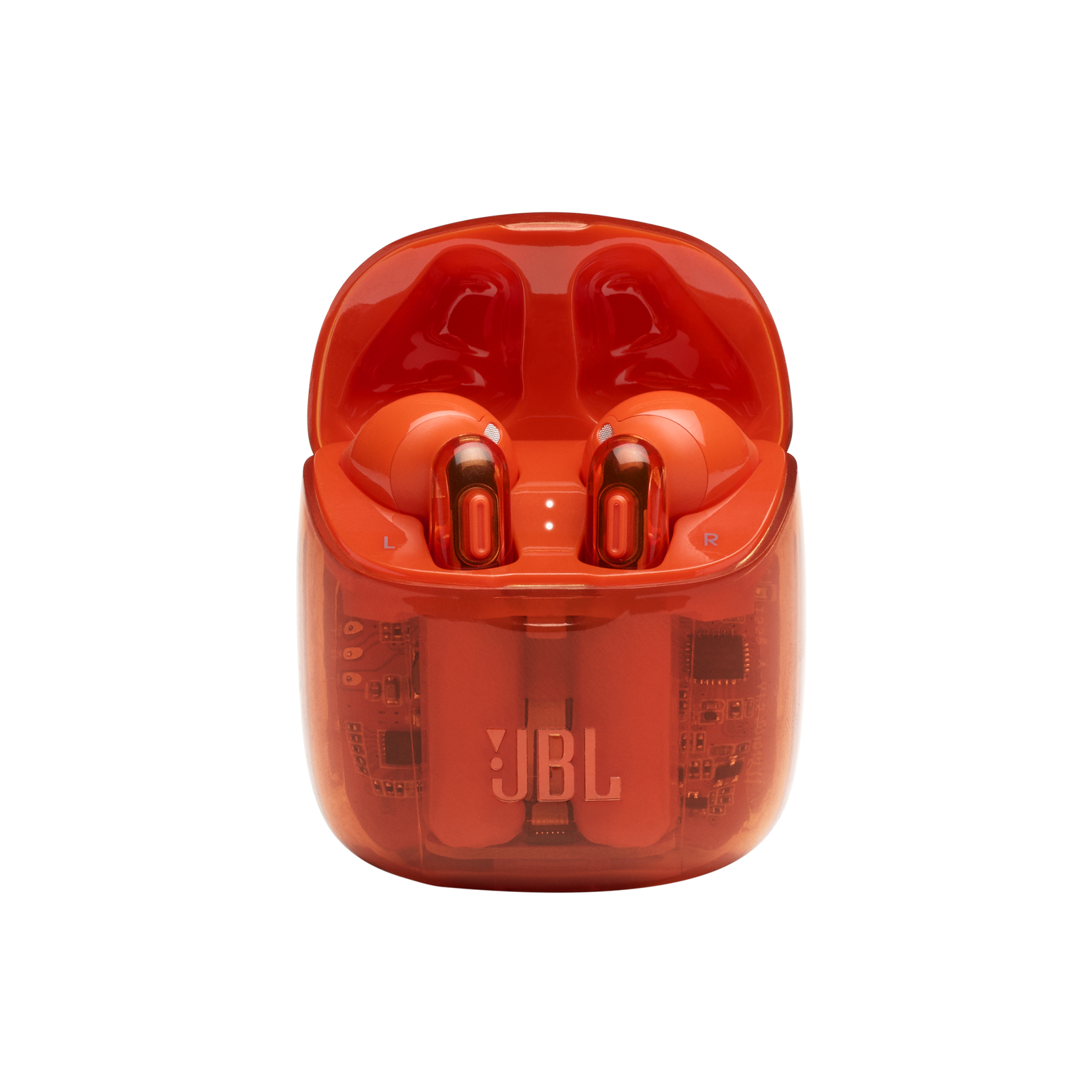 Tune 225TWS Ghost Edition - Orange - True wireless earbud headphones - Detailshot 3