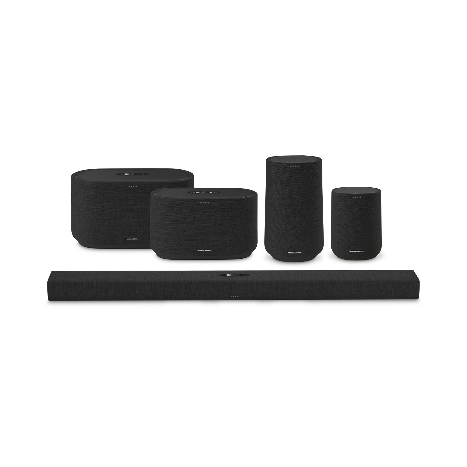 Harman Kardon Citation 100 - Black - The smallest, smartest home speaker with impactful sound - Detailshot 5
