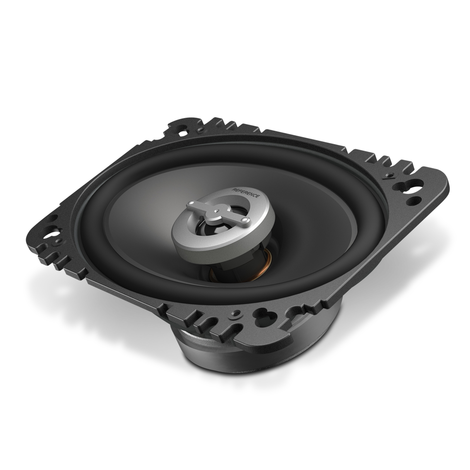 "Reference 6402cfx - Black - A 4"" x 6"", custom-fit, two-way, high-fidelity coaxial speaker with true 4-ohm technology - Hero"