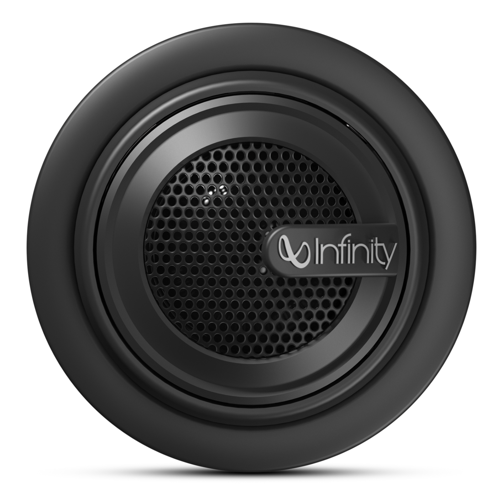 """Reference 075tx - Black - 3/4"""" (19mm) stand-alone component tweeter with passive crossover network - Front"""