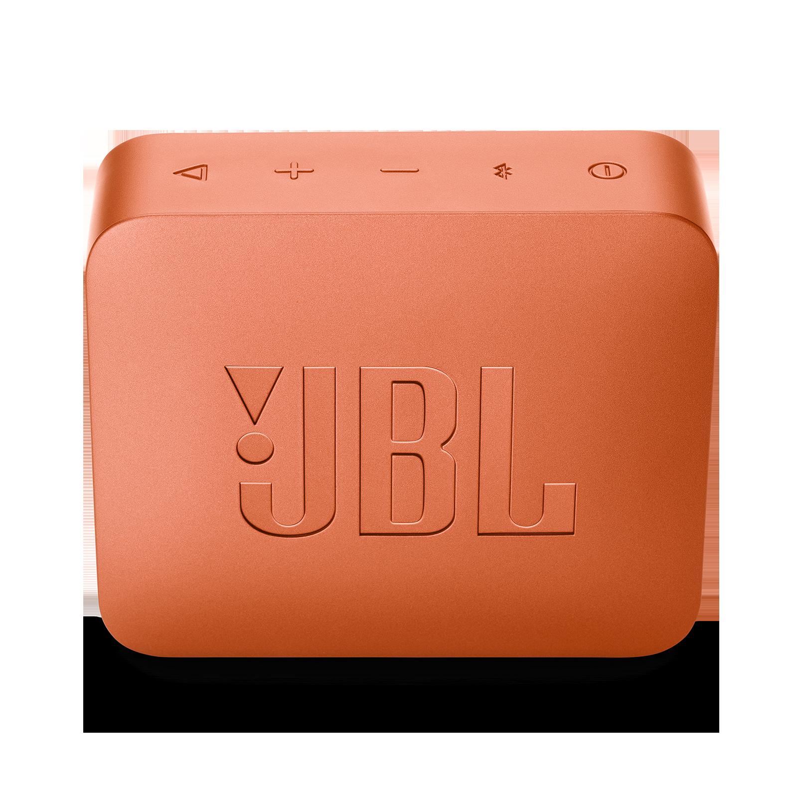 JBL GO 2 - Coral Orange - Portable Bluetooth speaker - Back