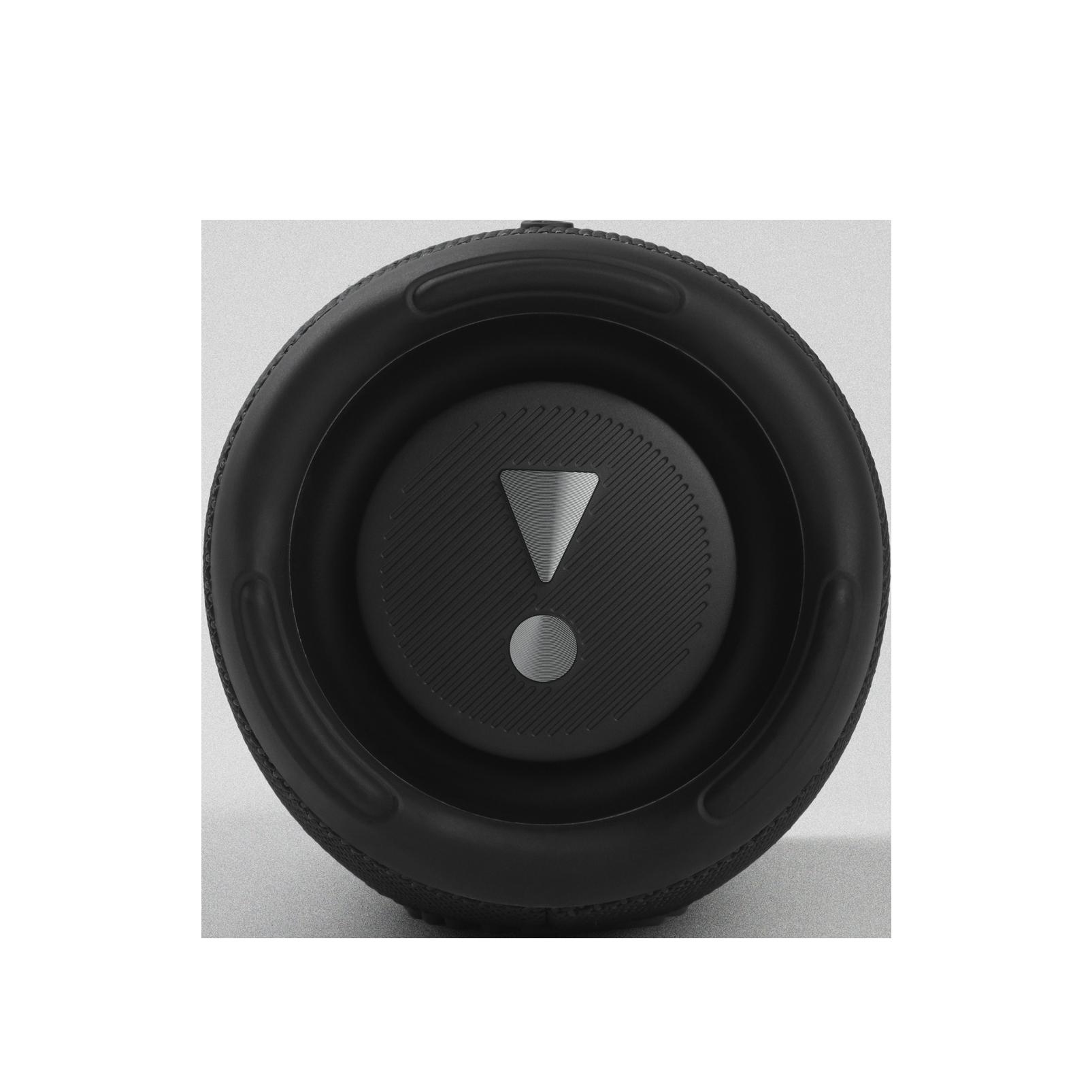 JBL Charge 5 - Black - Portable Waterproof Speaker with Powerbank - Left