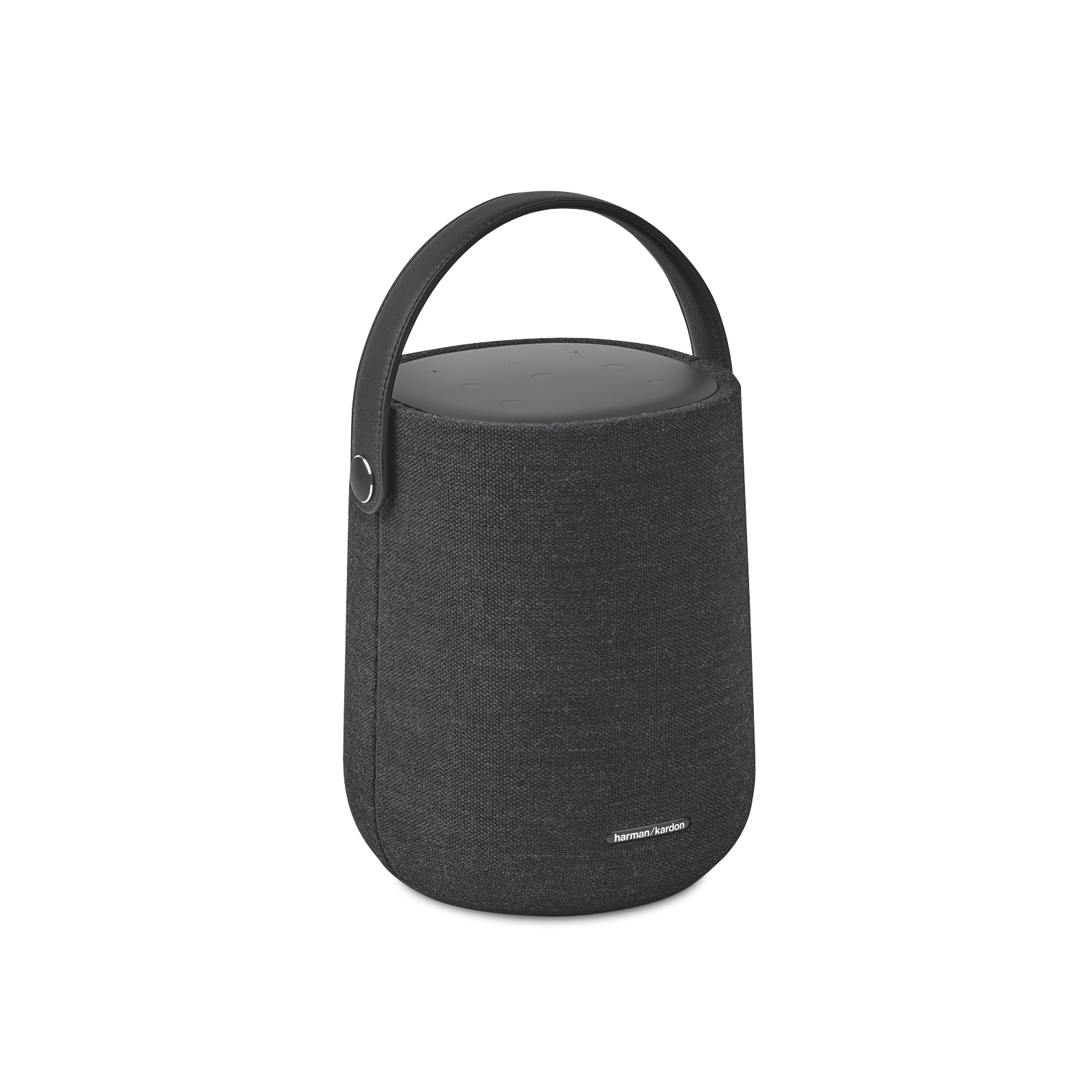 Harman Kardon Citation 200 - Black - Portable smart speaker for HD sound - Hero