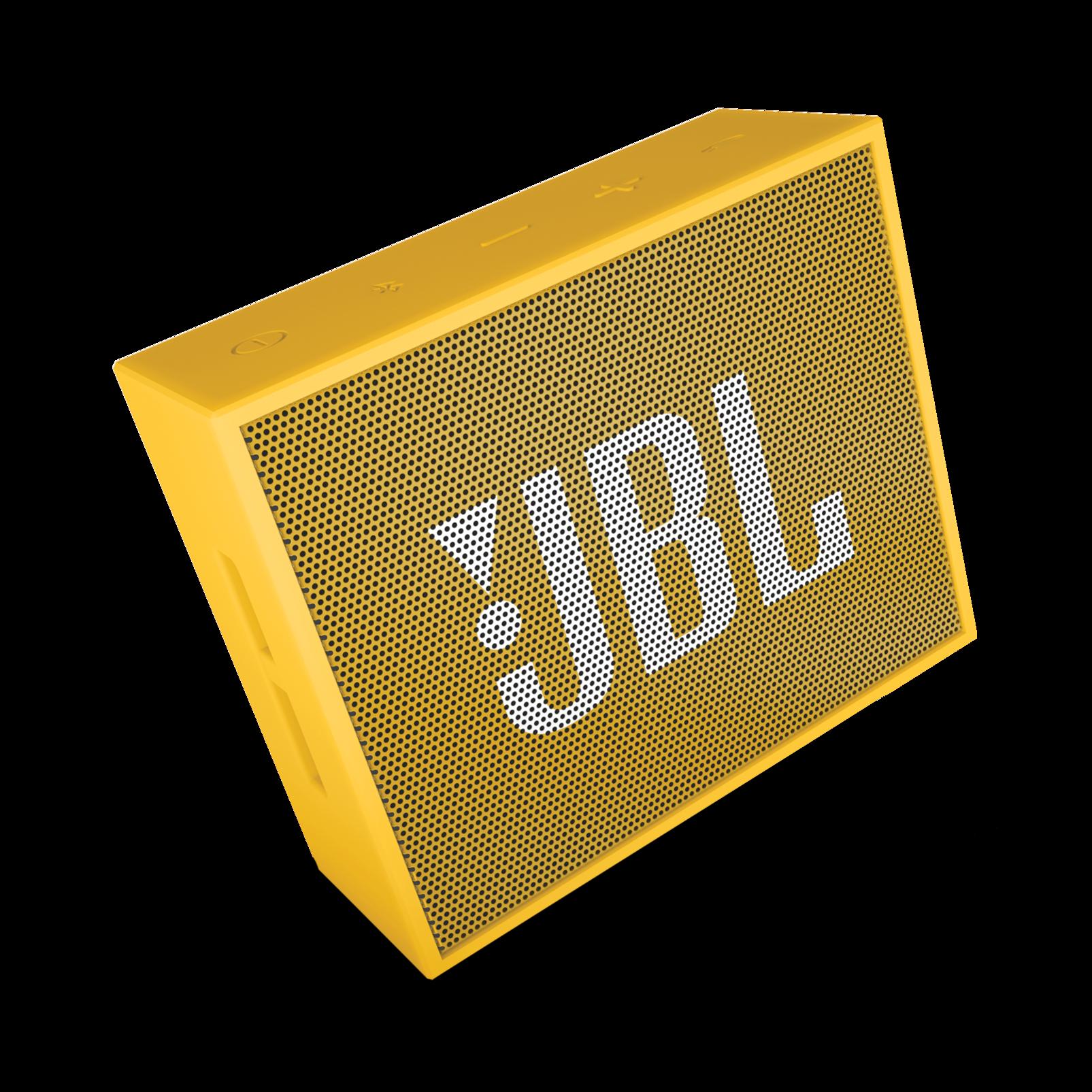 JBL GO - Yellow - Full-featured, great-sounding, great-value portable speaker - Detailshot 3