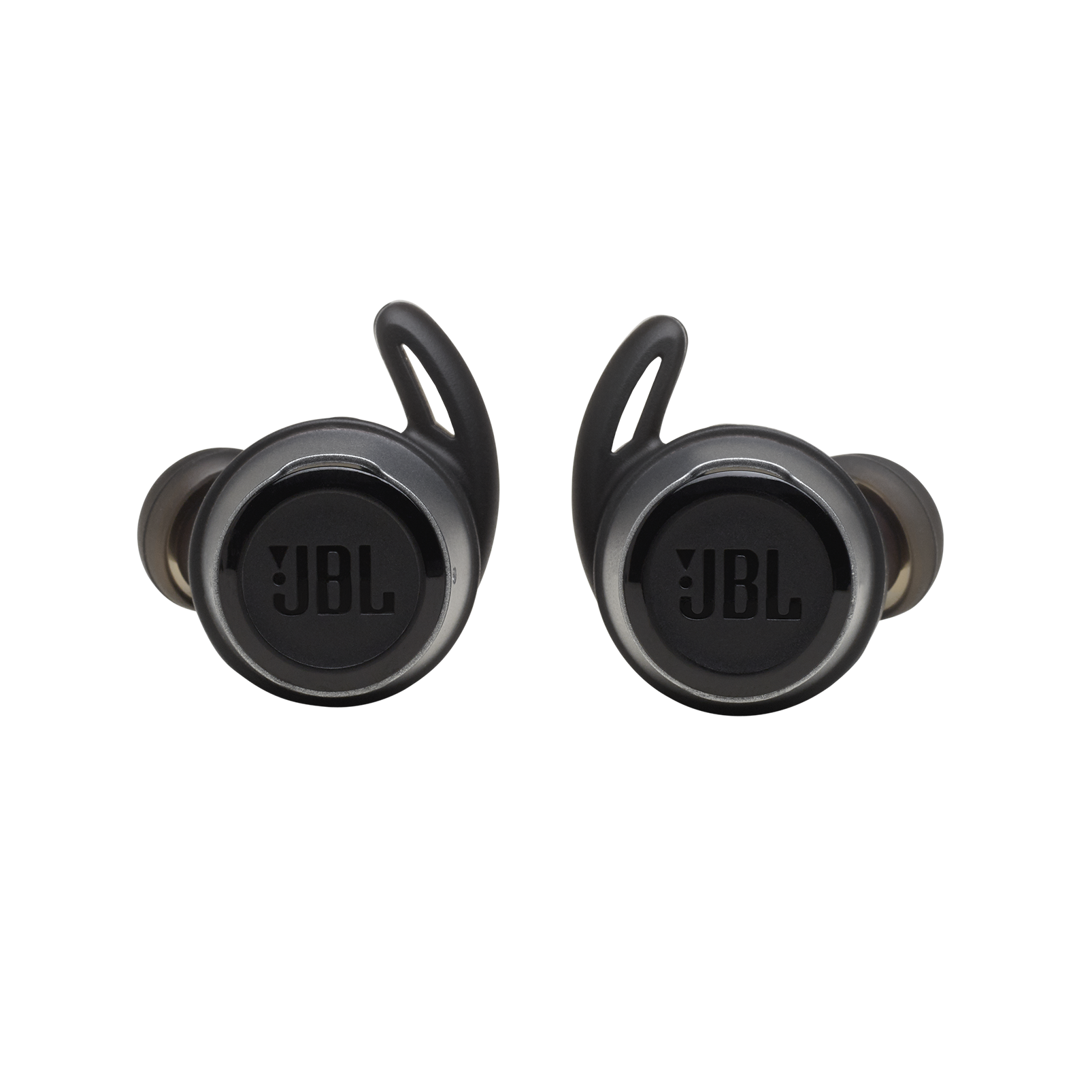 JBL Reflect Flow - Black - True wireless sport headphones. - Front