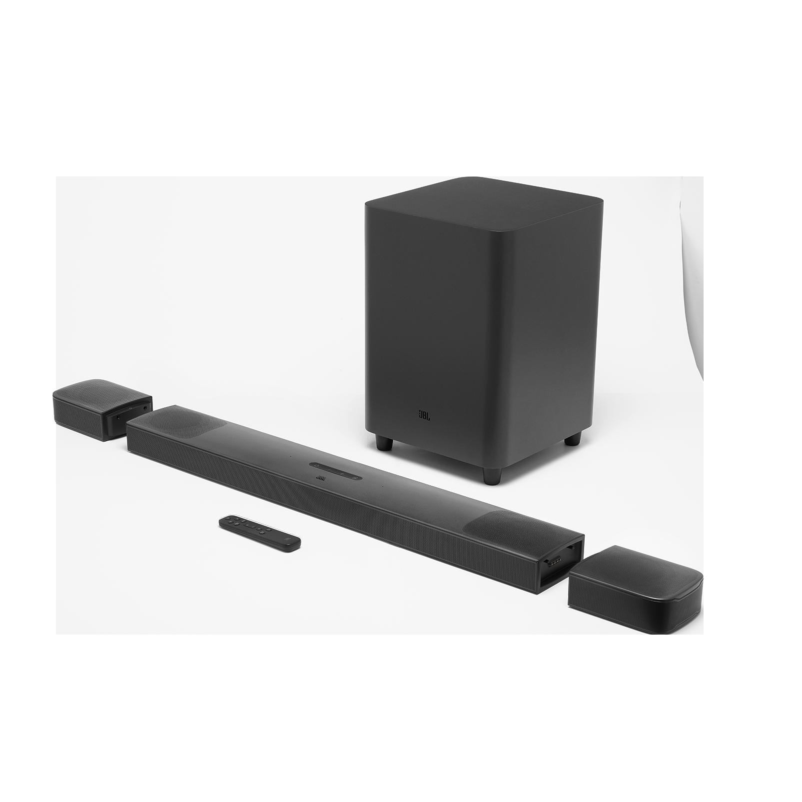 JBL BAR 9.1 True Wireless Surround with Dolby Atmos® - Black - Hero