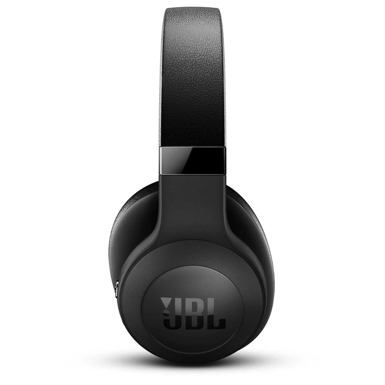 JBL E500BT - Black - Wireless over-ear headphones - Detailshot 1