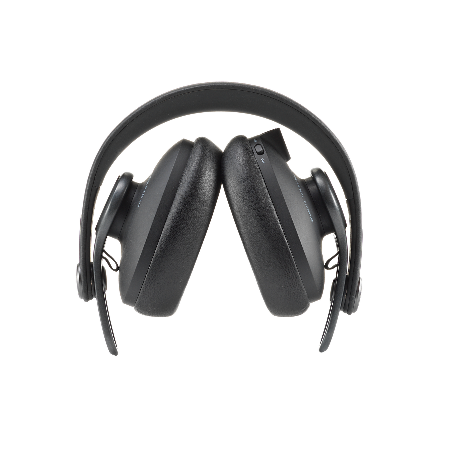 K371-BT - Black - Over-ear, closed-back, foldable studio headphones with Bluetooth - Detailshot 1