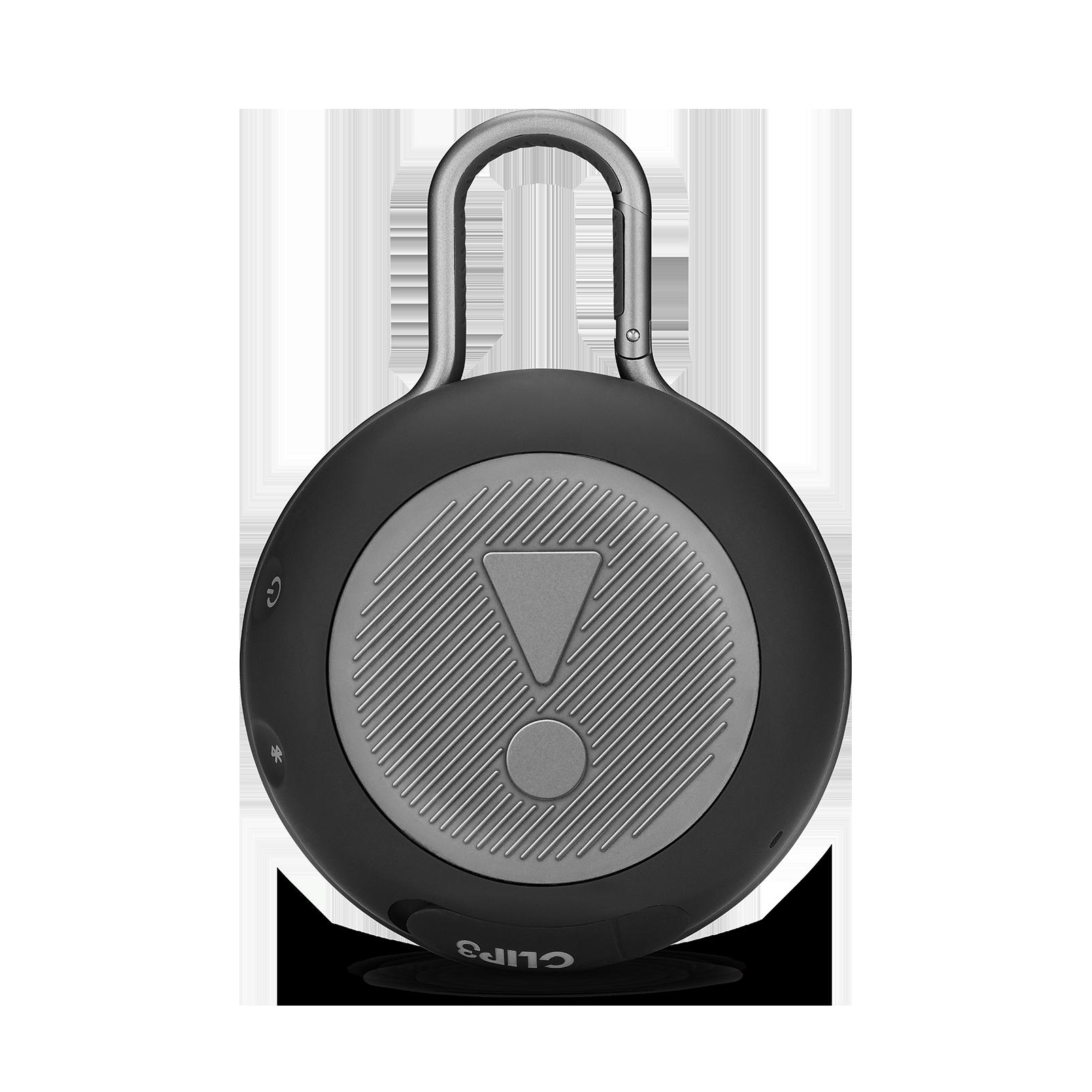 JBL CLIP 3 - Black/White Camouflage - Portable Bluetooth® speaker - Back
