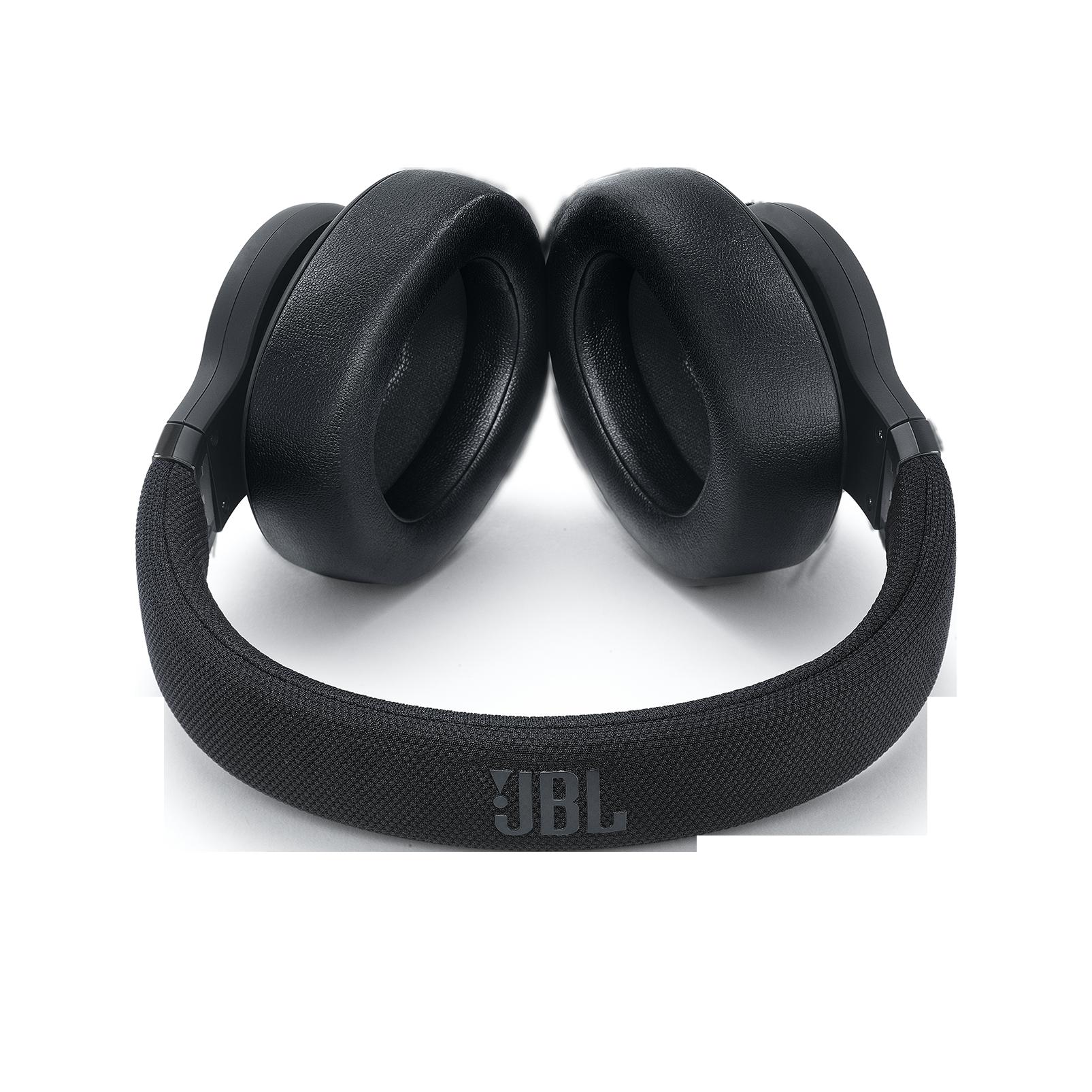 JBL E65BTNC - Black Matte - Wireless over-ear noise-cancelling headphones - Detailshot 1