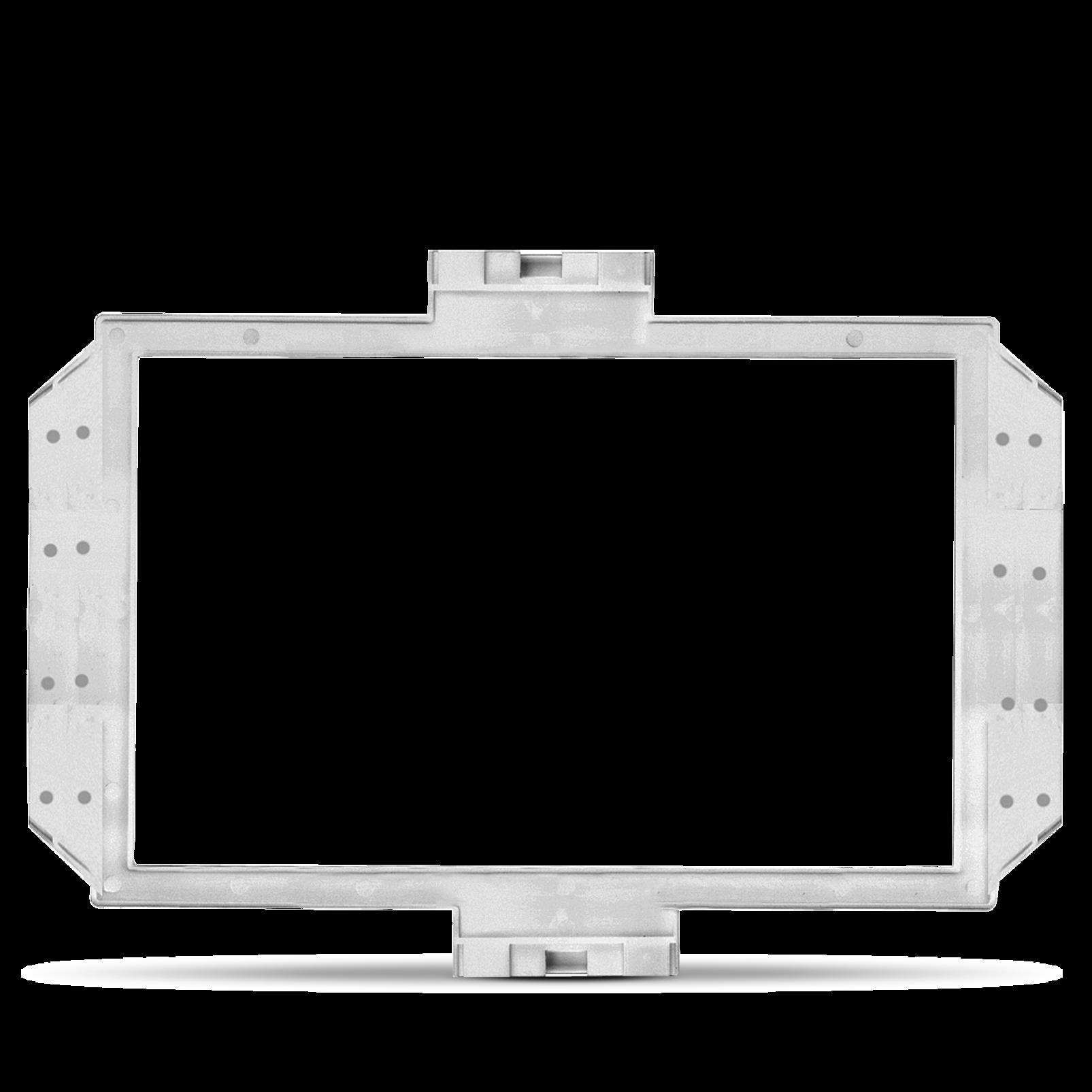 RIF55 - White - In-Wall Speaker Frames for JBL HTI55 Speakers - Hero