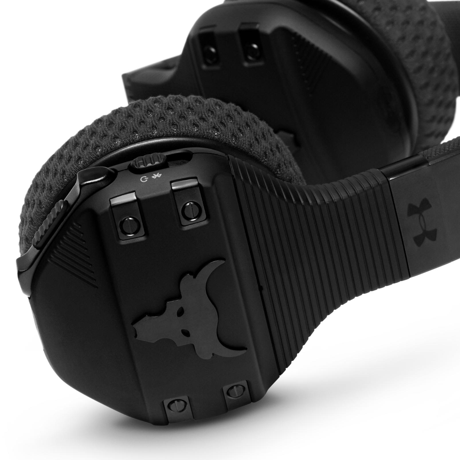 UA Sport Wireless Train Project Rock – Engineered by JBL - Black - On-ear sport Headphones - Detailshot 5