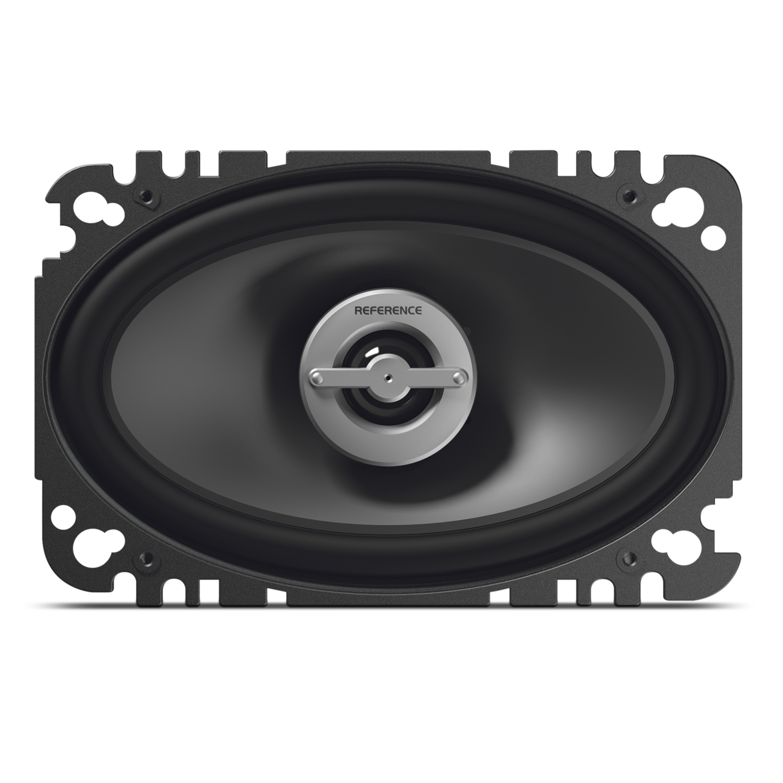 "Reference 6402cfx - Black - A 4"" x 6"", custom-fit, two-way, high-fidelity coaxial speaker with true 4-ohm technology - Front"