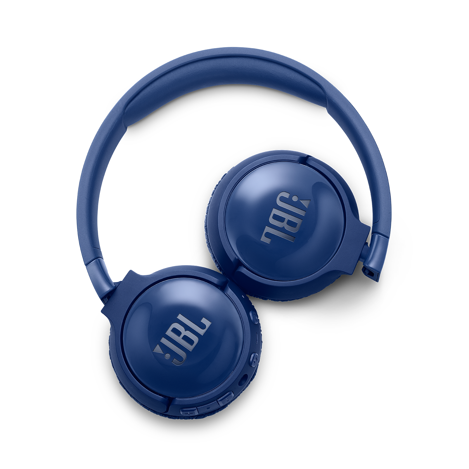 JBL TUNE 600BTNC - Blue - Wireless, on-ear, active noise-cancelling headphones. - Detailshot 4