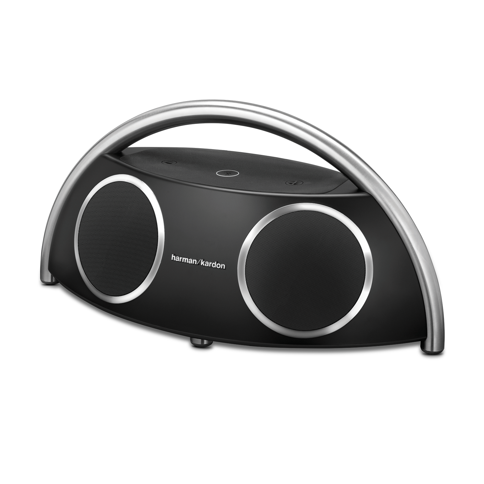 Go + Play Wireless - Black - Wireless loudspeaker designed for your digital music devices - Hero