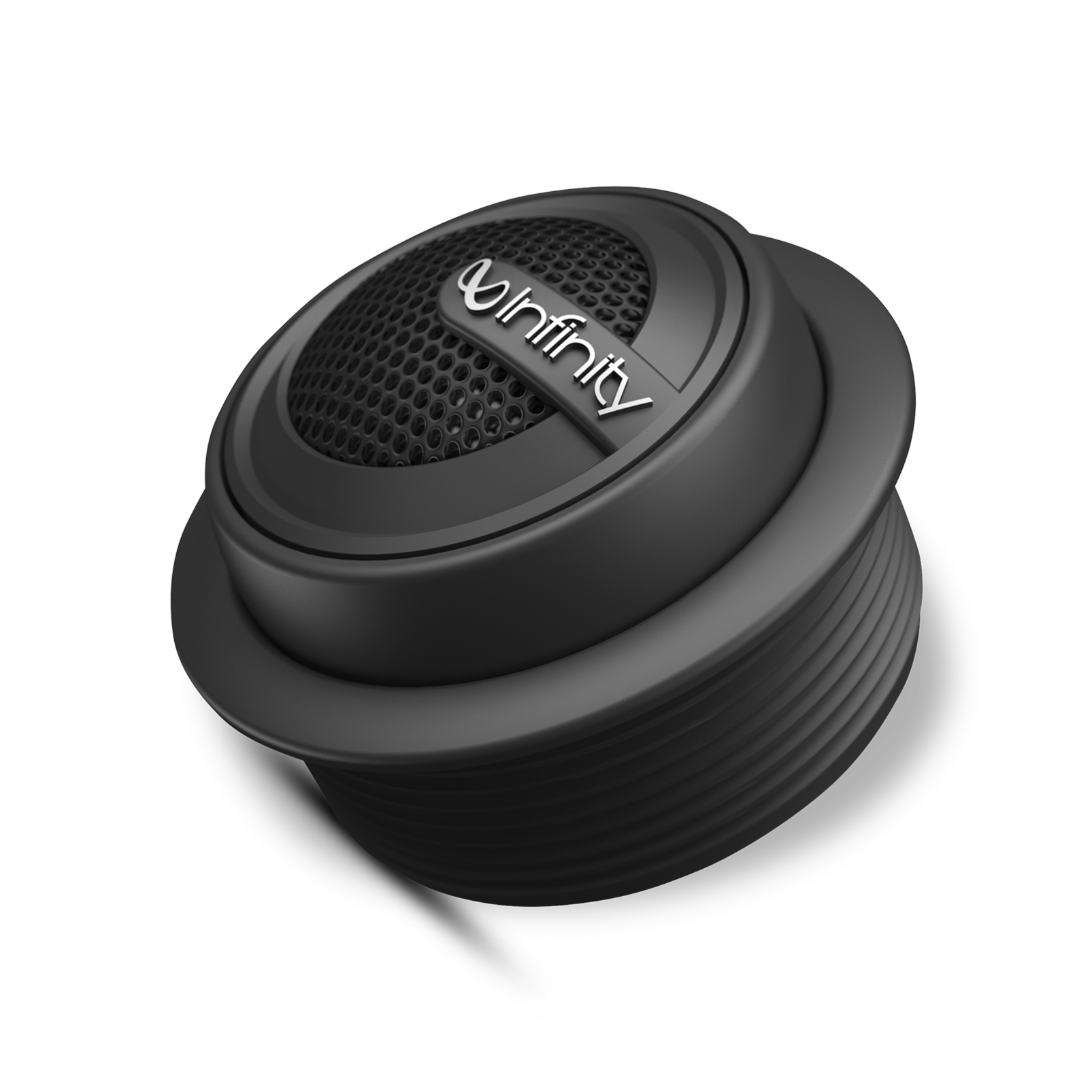 """Reference 075tx - Black - 3/4"""" (19mm) stand-alone component tweeter with passive crossover network - Hero"""