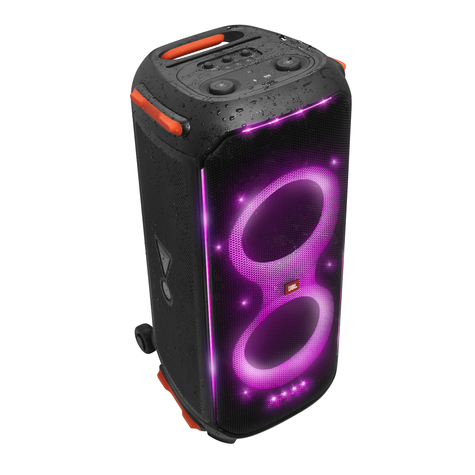 JBL Partybox 710 - Black - Party speaker with 800W RMS powerful sound, built-in lights and splashproof design. - Detailshot 5