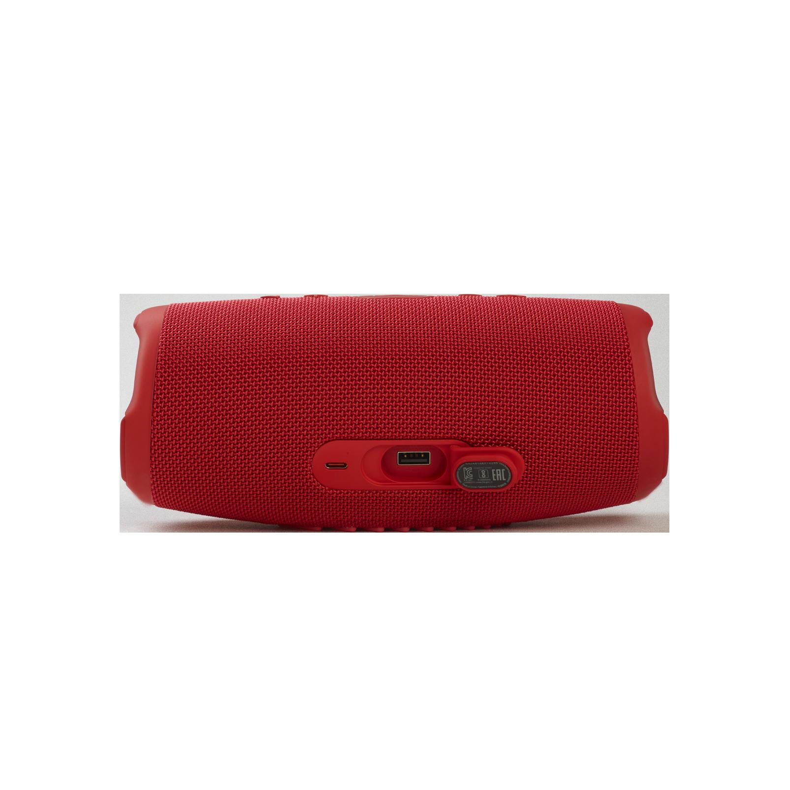 JBL CHARGE 5 - Red - Portable Waterproof Speaker with Powerbank - Detailshot 1