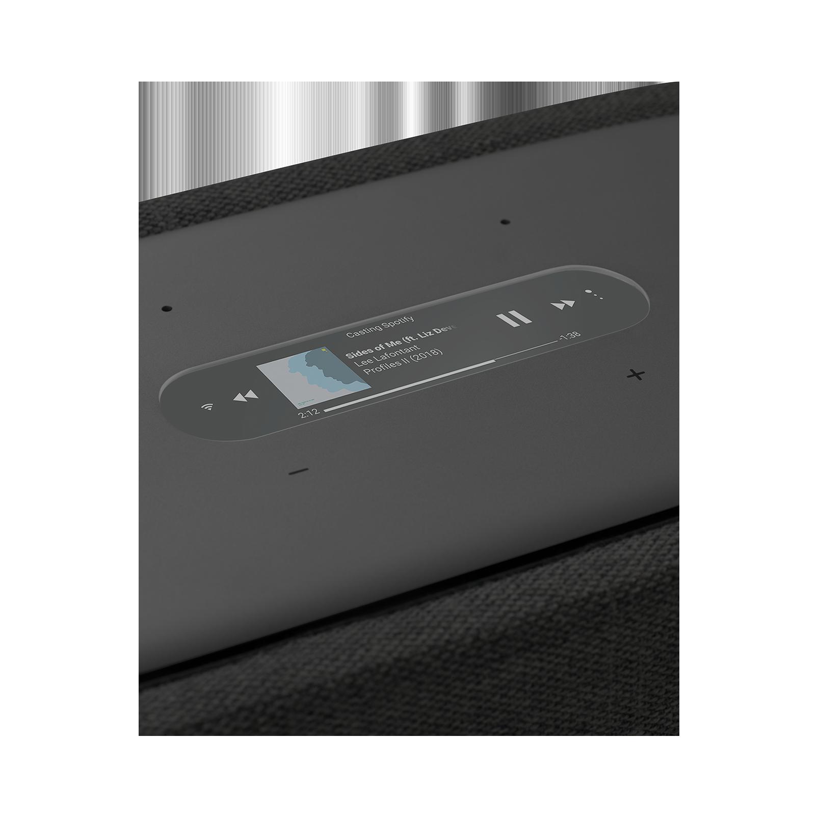 Harman Kardon Citation 300 - Black - The medium-size smart home speaker with award winning design - Detailshot 1
