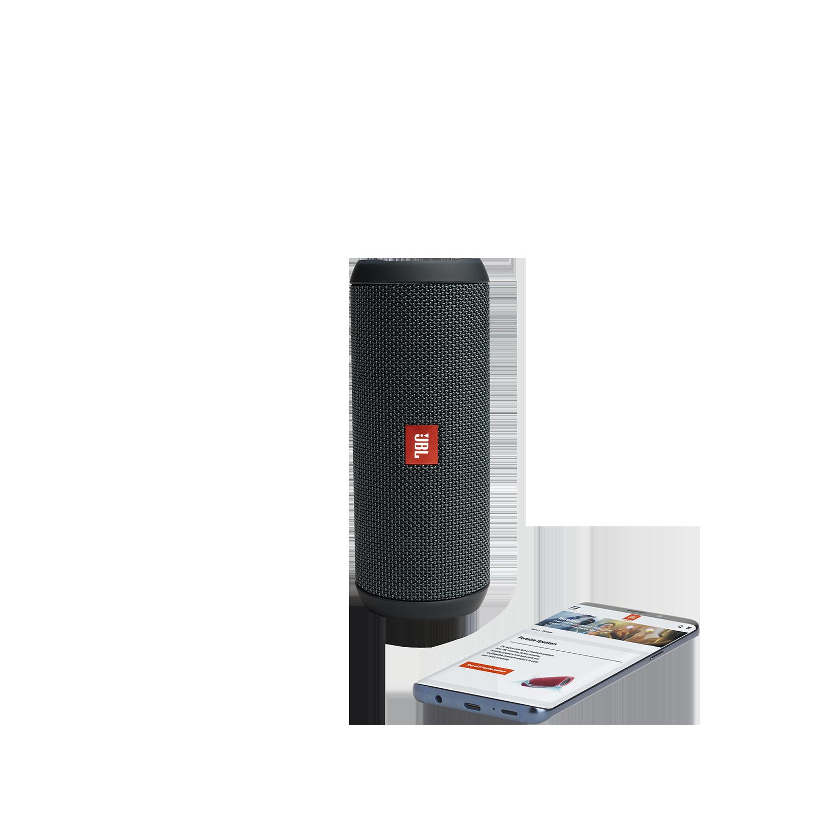 JBL Flip Essential - Gun Metal - Portable Bluetooth® speaker - Detailshot 2