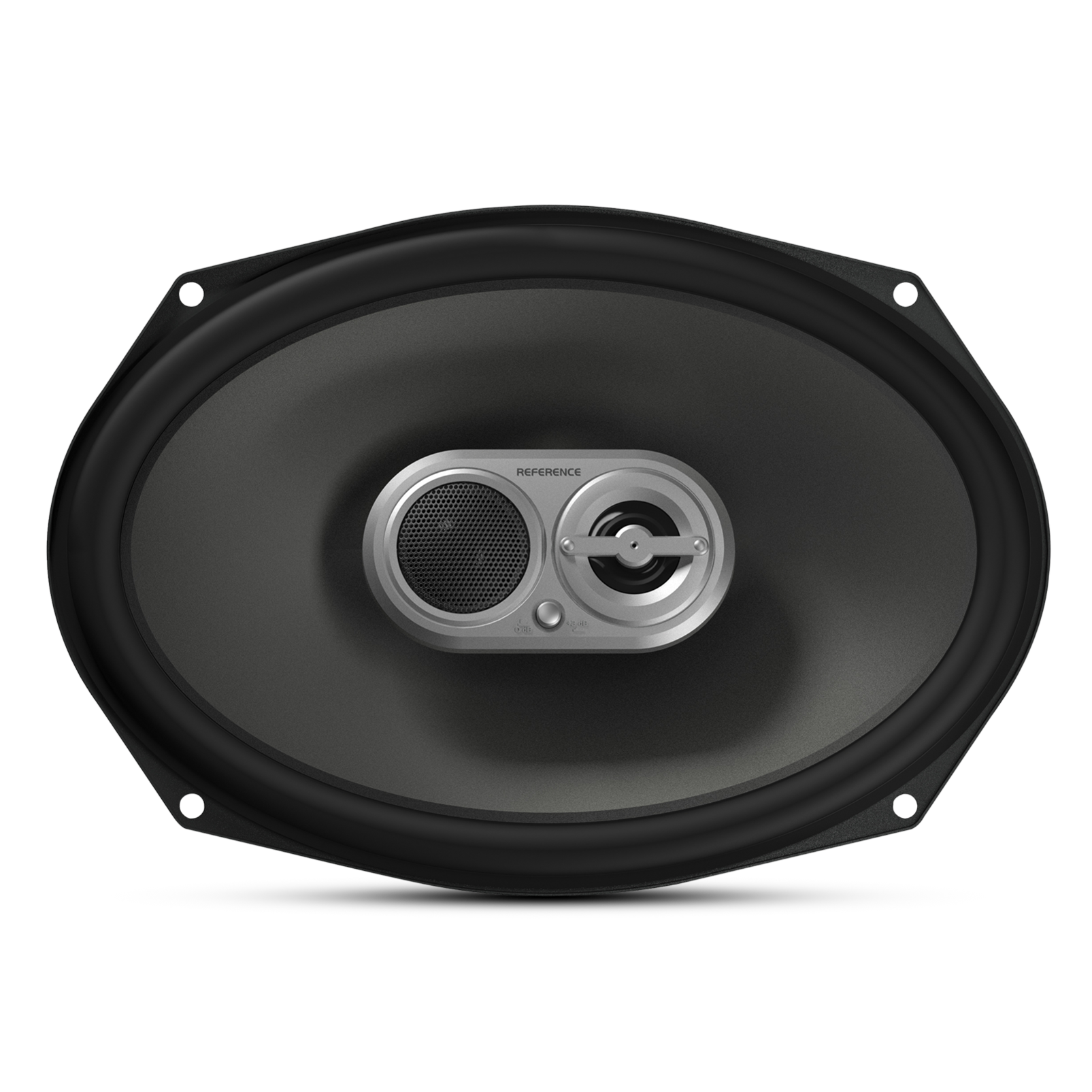 """Reference 9603ix - Black - A 6"""" x 9"""", three-way, high-fidelity speaker with true 4-ohm technology - Front"""
