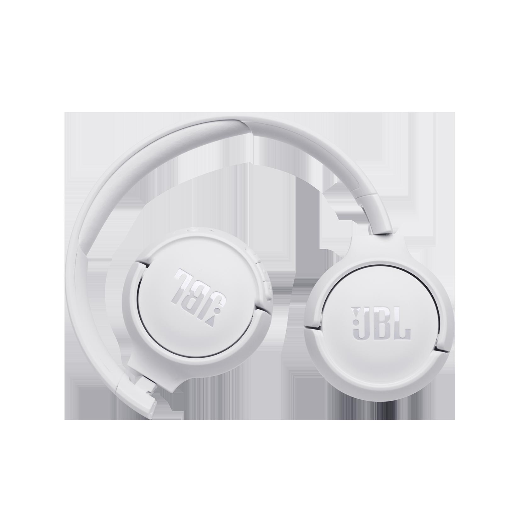JBL TUNE 560BT - White - Wireless on-ear headphones - Front