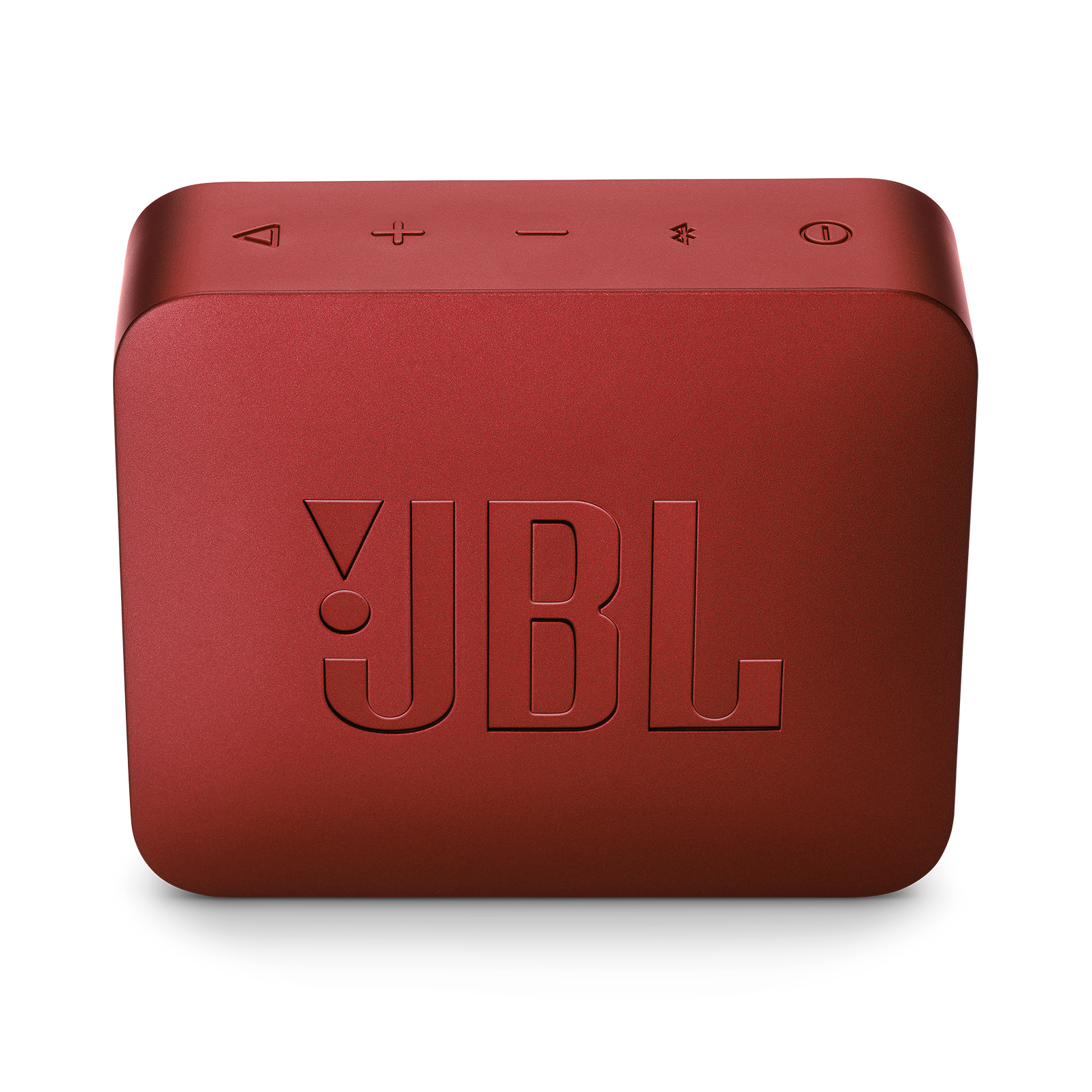 JBL GO 2 - Ruby Red - Portable Bluetooth speaker - Back