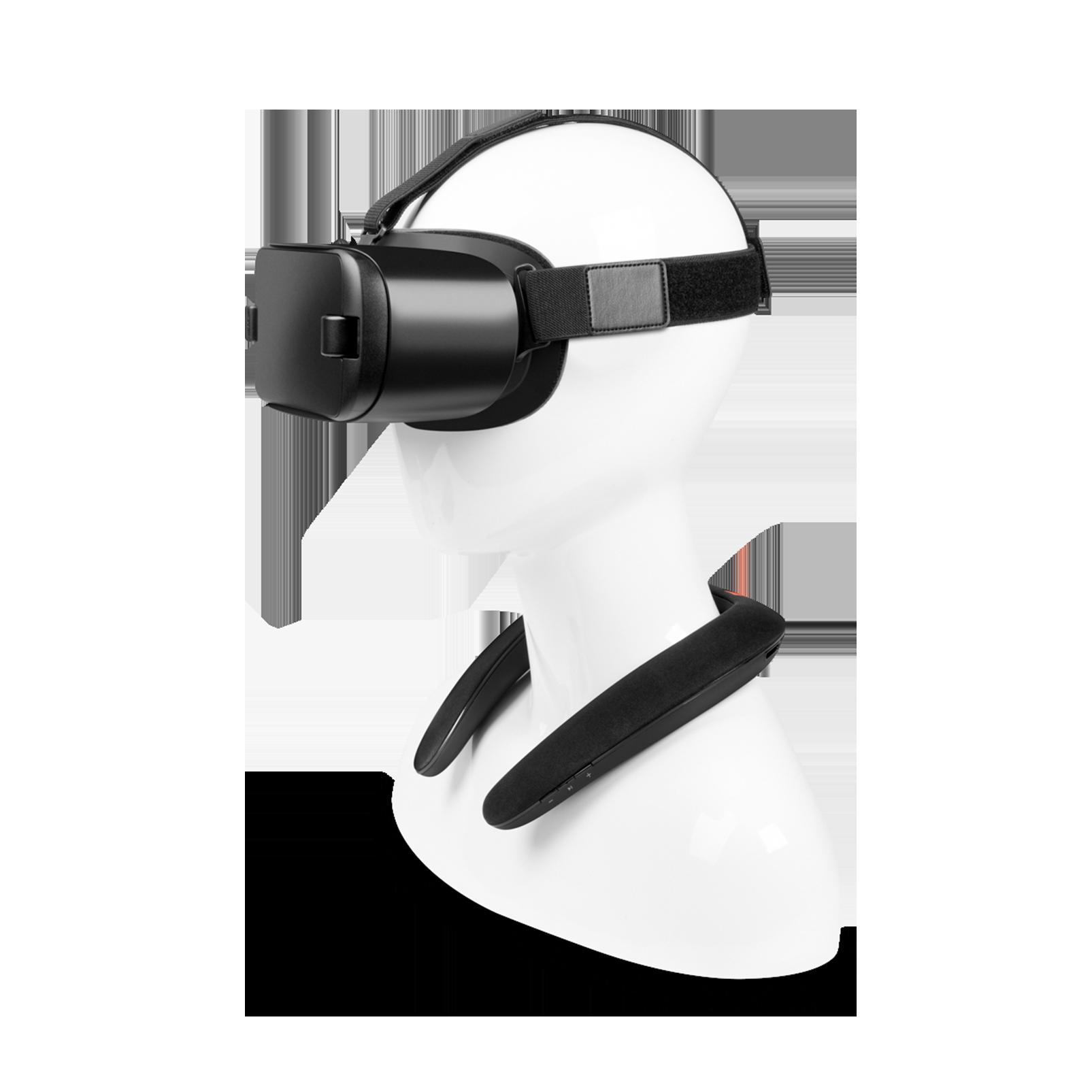 JBL SOUNDGEAR BTA - Black - Wearable wireless sound - Detailshot 1