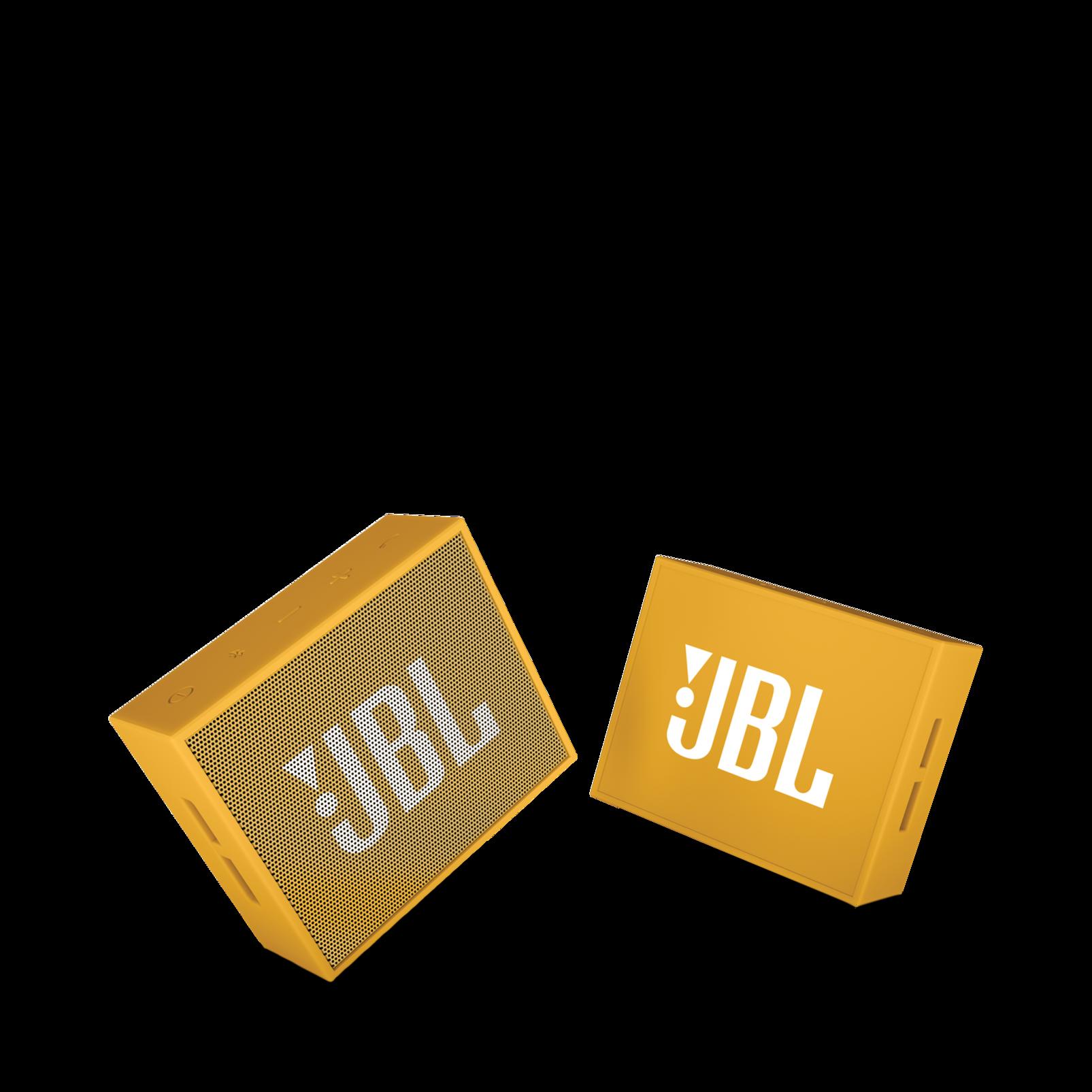 JBL GO - Yellow - Full-featured, great-sounding, great-value portable speaker - Detailshot 1