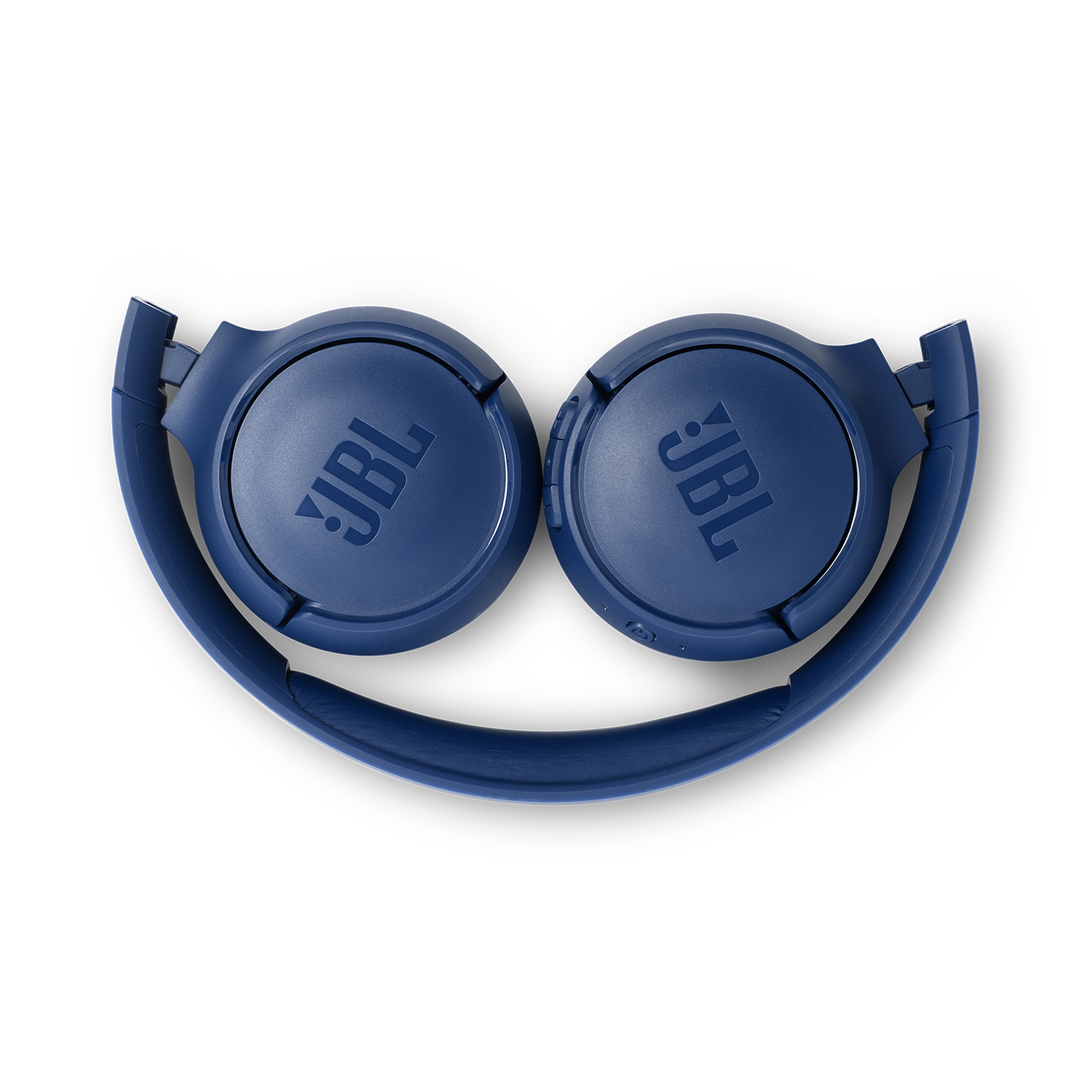 JBL TUNE 560BT - Blue - Wireless on-ear headphones - Detailshot 3