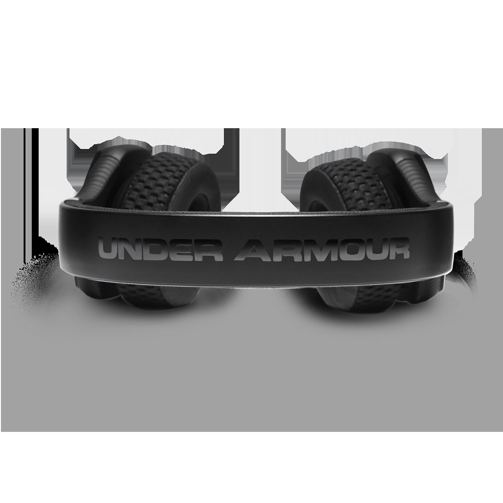 UA Sport Wireless Train – Engineered by JBL - Black / Red - Wireless on-ear headphone built for the gym - Detailshot 4