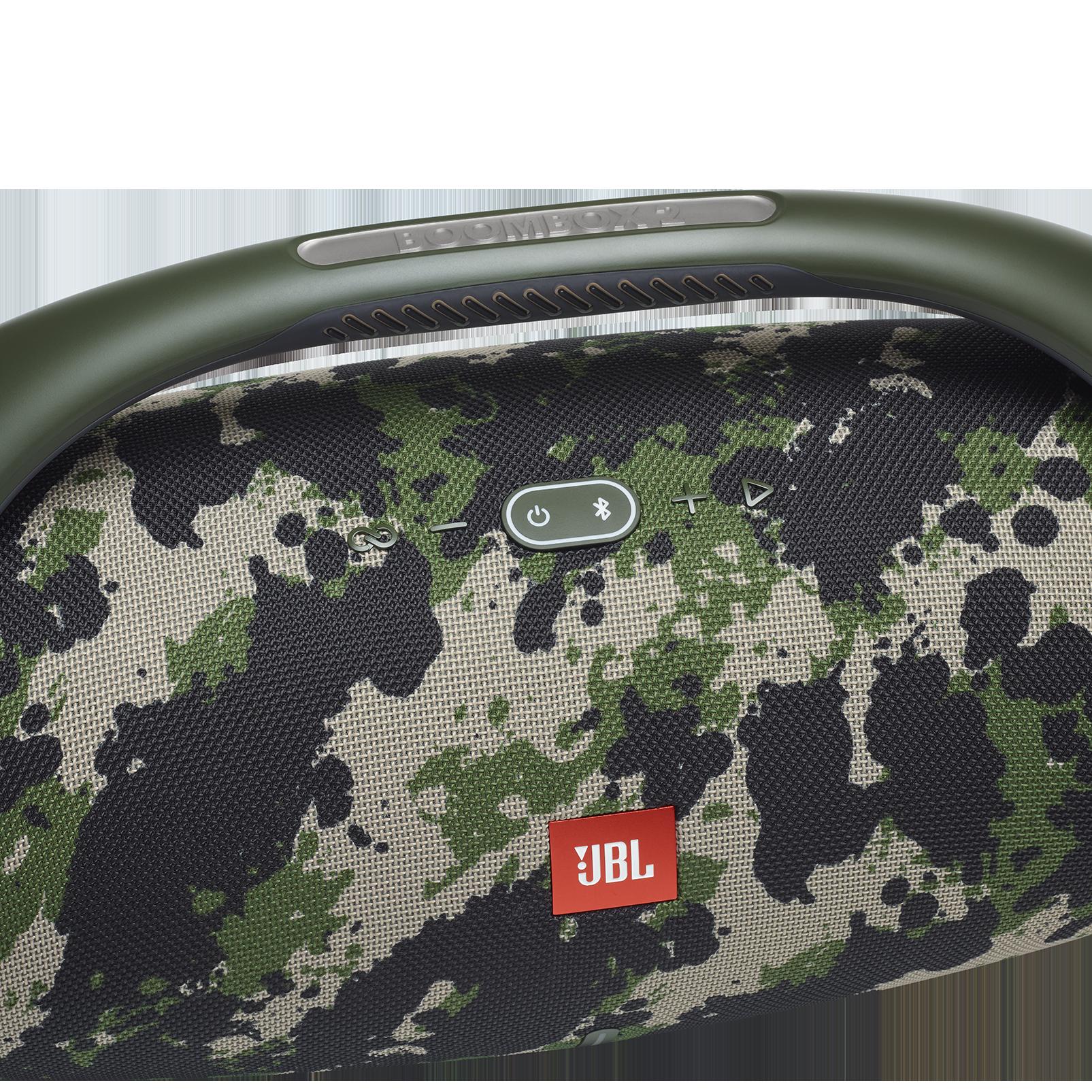 JBL Boombox 2 - Squad - Portable Bluetooth Speaker - Detailshot 1